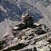 Der Steinbock geniesst auf dem Kleinen Bigerhorn die Nachmittagssonne