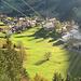 erste Sonnenstrahlen über Mittelberg