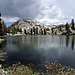 I hit the famous Pacific Crest Trail near Seavey Pass, where I pass several nameless lakes