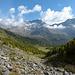 Das letzte Stück durchs Val Mera zur Alp Camp.