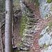 Bavona-Style: Treppe im Aufstieg von Lütschental nach Hintisberg