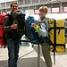 voll gepackt gehts los am Münchner Flughafen.. immerhin sind wir ja auch 3 1/2 Monate unterwegs ;-)