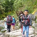 Sherpa-Kinder auf dem Weg zur Schule