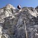 Tinu am Anfang der 3. Felsstufe