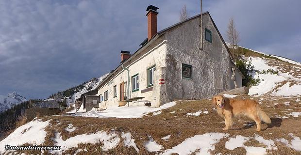 Am Wochenende nun geöffnet - die Leobnerhütte!