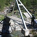 Il ponte in fondo al secondo ramo del lago