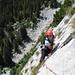 Sauberes Klettern in der 2-Punkte-Haltung ;-) (Foto: Reiner Beck)