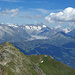 Grosser Aletschgletscher mit den Wallisser Fiescherhörnern