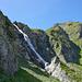 Erstaunlich, dass man diese Steilstufe beim Aufstieg aufs Galehorn mit Skiern überwinden kann