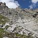 Toute la partie difficile de la descente, les ~100m sous le sommet