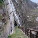 die letzten Treppen hinunter nach Pollegio