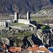 Blick zum Castelgrande vom Montebello aus