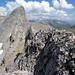 Gipfel Nuseyhorn - Blick auf Trubelstock