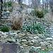 In der Gegend von Colletta mit liebe zum Detail aufgeschichtete Trockensteinmauern