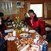 Frühstück in der Ottendorfer Hütte