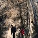 Sam und ich am Fuß des Großen Lorenzstein