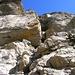 Einfache Kletterei im Leiterli