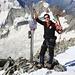 André auf dem Gipfel vom Aletschhorn (4193m) . Unsere erste gemeinsame Tour - und es wird nicht die letzte gewesen sein!