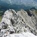Der Grat im Rückblick, unten liegt Innsbruck