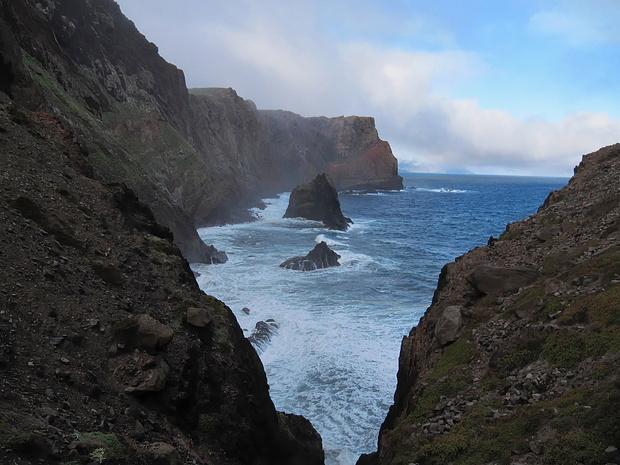Steilküste nordseits