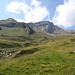 Blick zurück zum Gipfel von der Mathon-Seite her