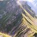 Du sommet de l'Ochsen vue sur la Gemsgrat et la Gemsflue.