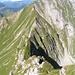 Du sommet de la Gemsflue vue sur la Gemsgrat et l'Ochsen.