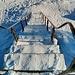 die Treppe von oben