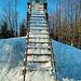 die Treppe von unten