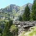 Alpe Tramoggia - Cima d'Efra und Basal über dem Iametta-Graben