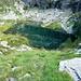 Val Marcri - See auf 1984m beim Abstieg von Pian Tasin
