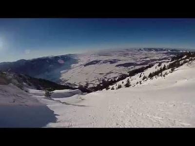 Videoclip vom Federispitz via Abfahrt der Westrinne