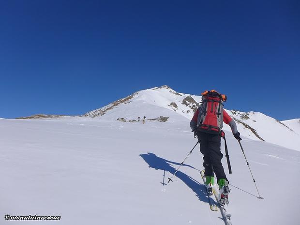 Die letzten 400m auf den Gipfel ziehen sich...
