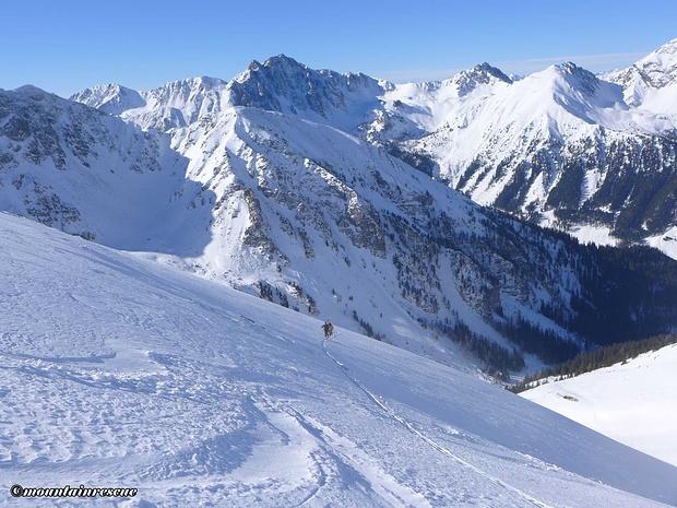 So kann man(n) auch den Berg erklimmen...☺