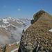 Gipfel des Dent de Hautaudon, ganz links Cape au Moine gefolgt von Vanil des Artses und Dent de Lys