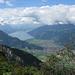 Der Thuner See vom Panoramaweg Schynige Platte aus gesehen