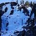 Der wunderbare Eisfall im Leitnertal würde auch zum Eisklettern einladen
