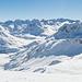 Gipfelpanorama vom Pazolastock in Richtung Val Maighels