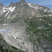 Der Furka, was für ein trauriger Anblick, wenn man alte Gletscherbilder kennt