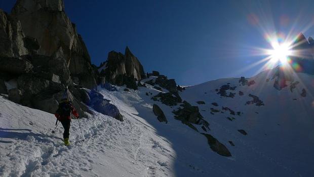 Kurz vor Lochberg Gipfel