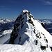 La cresta di cima dell'Accla