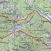 Ravöra - Ungefährer Routenverlauf
