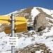 <b>Alle 11.45 raggiungo quindi il valico Ritzerjoch (2688 m), esattamente sul confine tra Svizzera e Austria.</b>