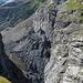 Felssturzzone unterhalb der Schlosslouwina gegenüber der Bäregg