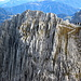 Schöne Felsstrukturen an der Hinteren Halt