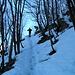 scendiamo da Monte Pravello