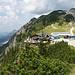 Blick beim Anstieg zur Läuferspitze hinunter zum Füssener Jöchl