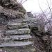 hinauf über die nächste Treppe