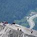 Ein Freitag in Kanada – es herrscht Betrieb, nicht nur auf dem Gipfel, sondern auch auf der Autobahn …