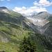Am Aufstieg vorbei an Oberaletsch und ein letzter Blick auf den Gletscherriesen